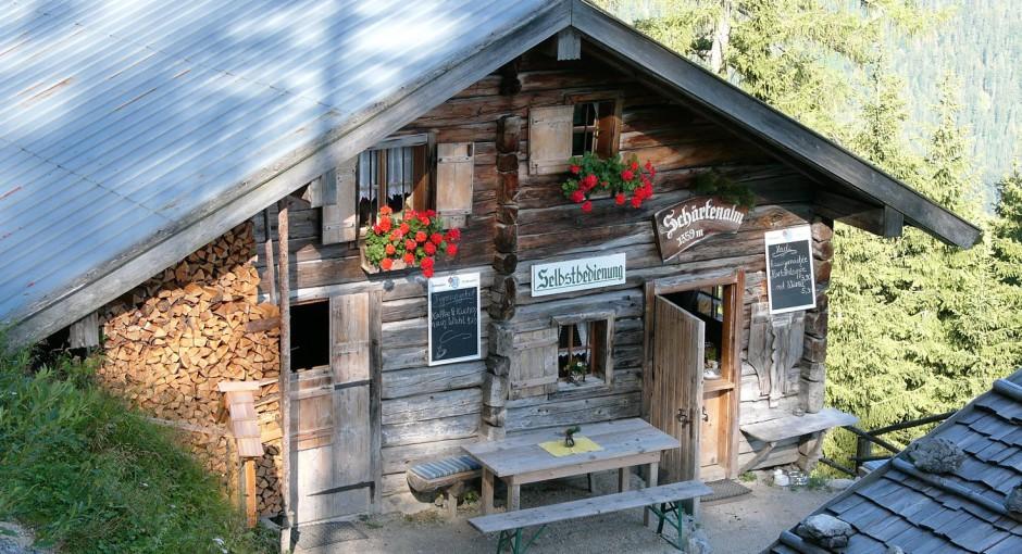 Ramsau – Schärtenspitze: Die Kuchenseite des Hochkalter