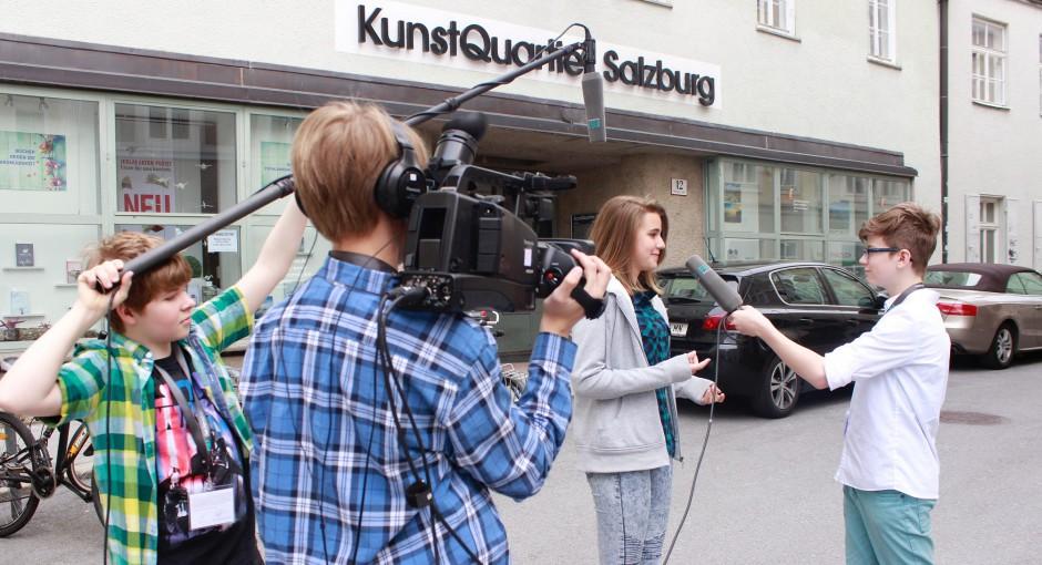 Jugendliche machen eigene Fernsehsendung
