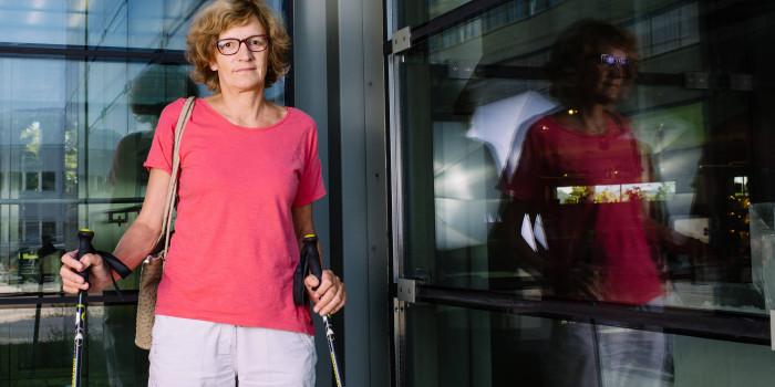 Prothesenbruch: Eine Frau gibt nicht auf