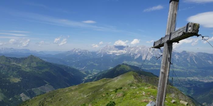 Bergwandern im Heidi-Land