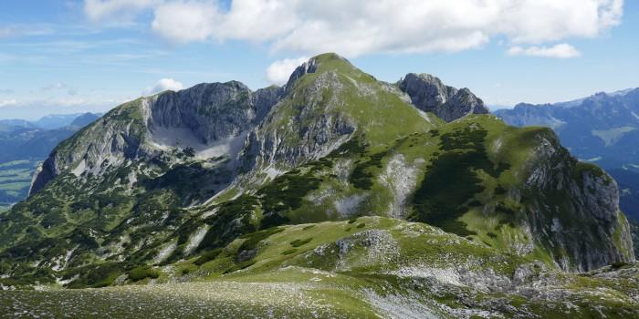 Wuchtiger Klotz im Tennengebirge