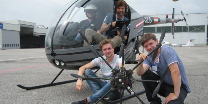 Mit einer Drohne startete der Erfolg