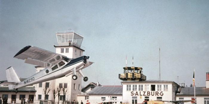 90 Jahre wie im Fluge – Rückblick auf neun Jahrzehnte Salzburg Airport