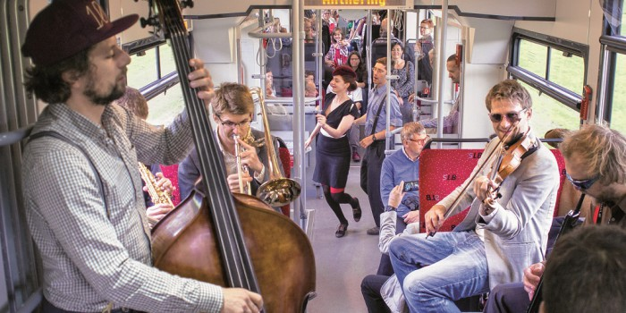Jazz mal anders: Take the A-Train