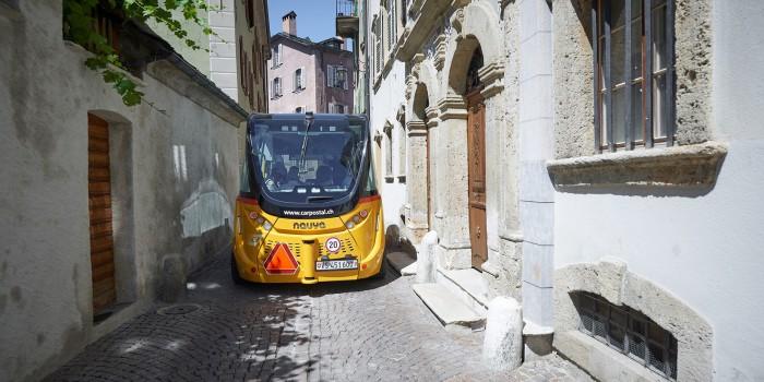 Erster selbstfahrender Bus kommt nach Salzburg