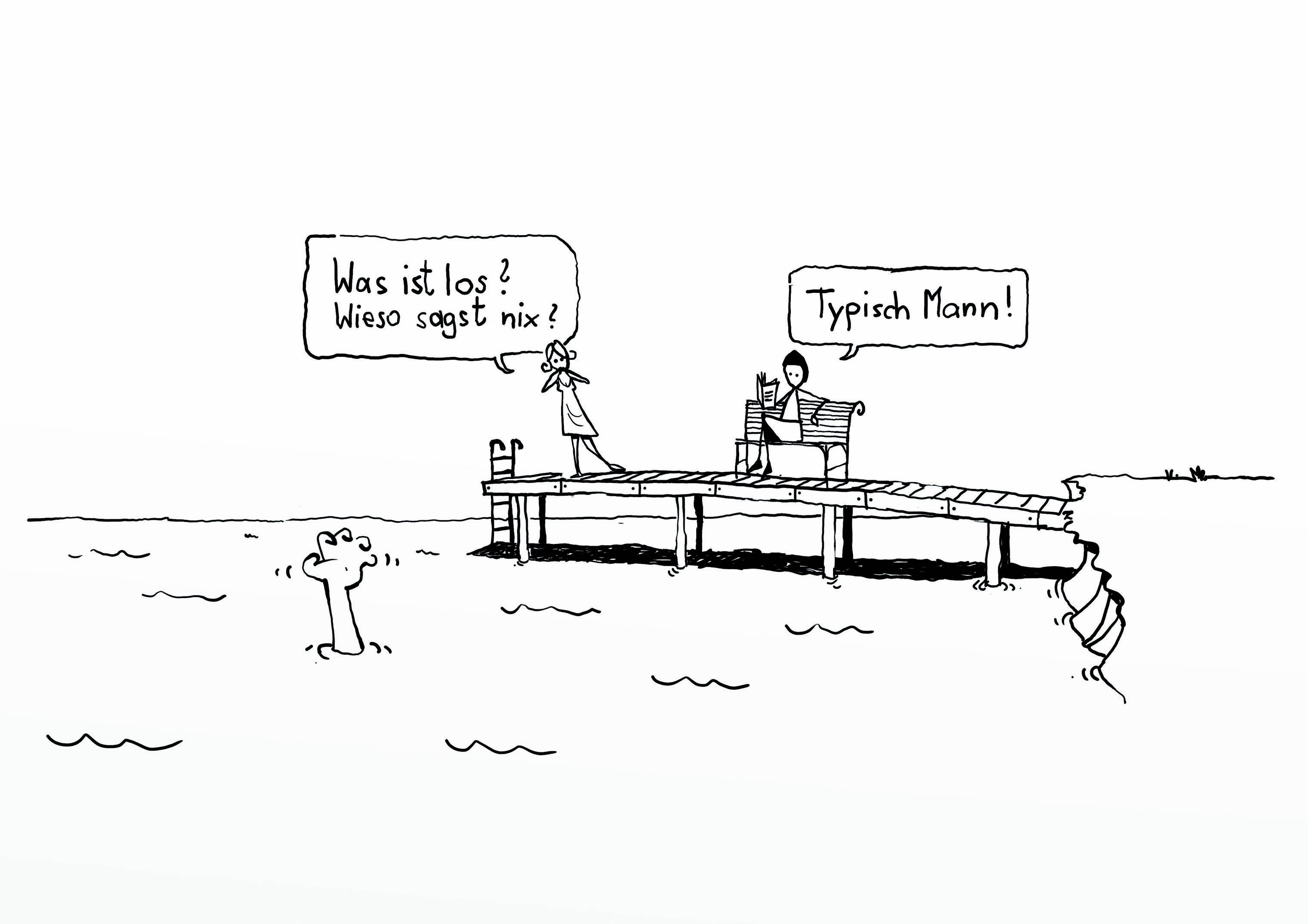 Karikatur: Thomas Selinger