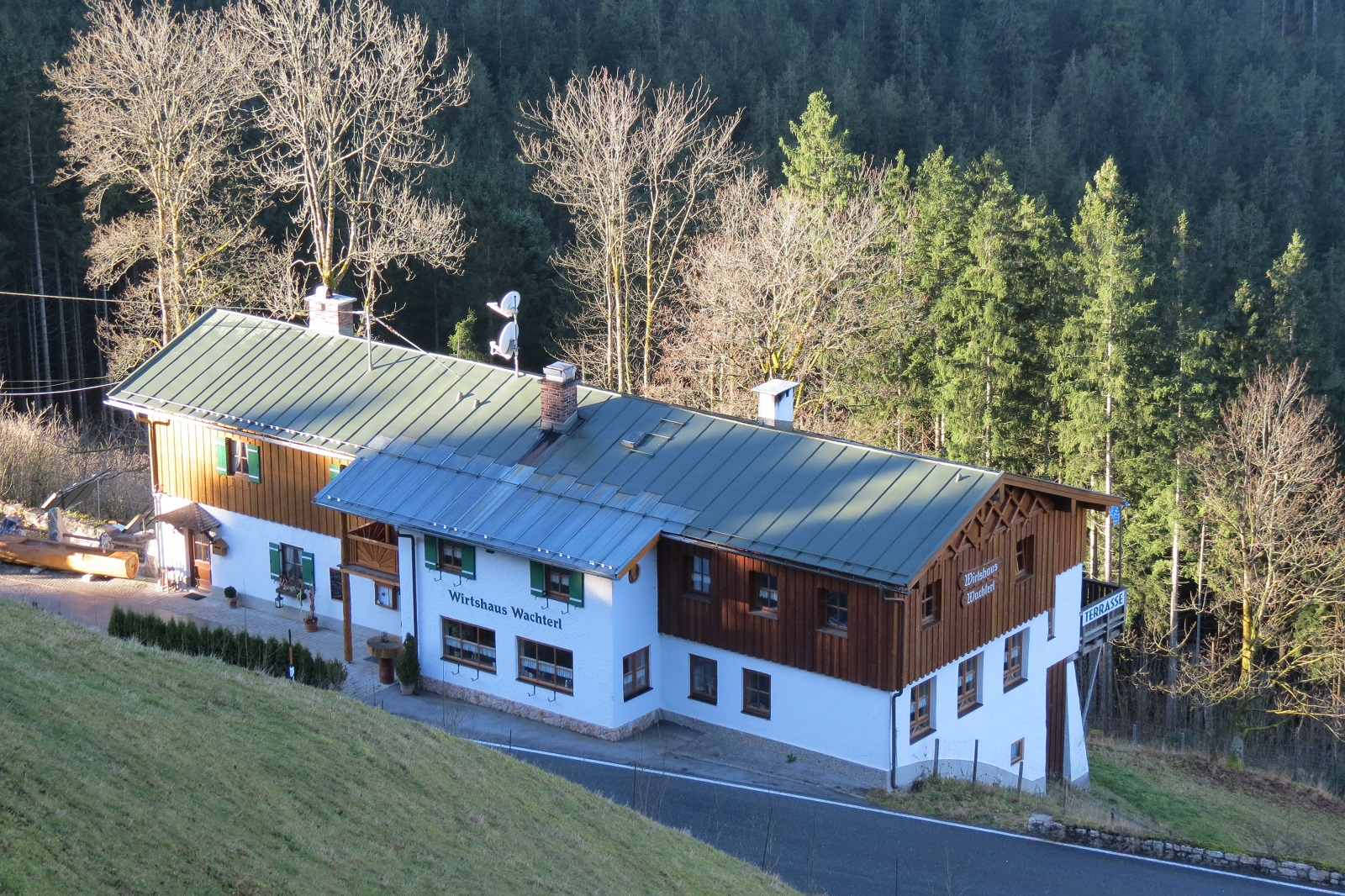 Das Wachterl an der Schwarzbachwacht ist ein empfehlenswertes Gasthaus.