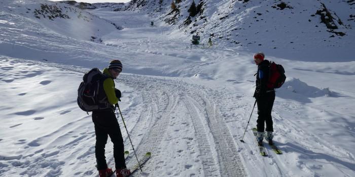 Der frühe Schnee lockt aufs Kitzsteinhorn