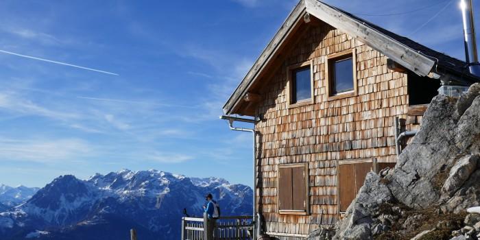 3 schöne Winter-Wander-Hütten