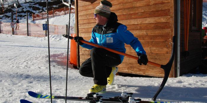 Warum Skilehrer auf Pizzaschnitten abfahren