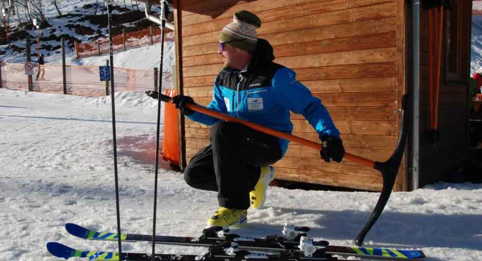 Warum Skilehrer auf Pizzaschnitte abfahren