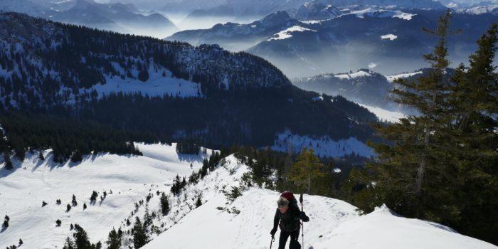 Steiler Firn im Heutal: Der Reifelberg