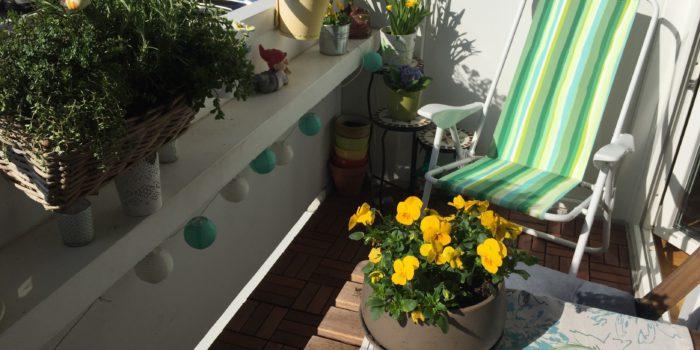 Drei Quadratmeter voller Glück und Sonne
