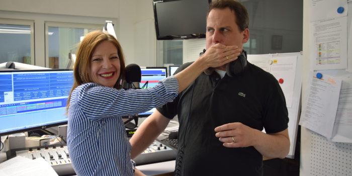 Kathi trifft Kathi: Zu Besuch bei Antenne Salzburg