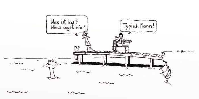Karikaturen-Ausstellung: Auf den Punkt gebracht.