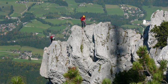 Ein leichter Klettersteig auf die Katrin