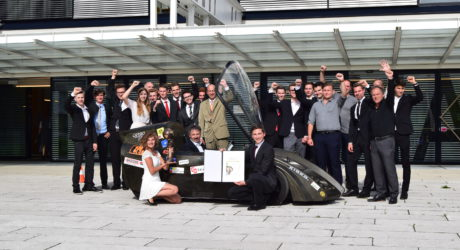 Salzburger Schüler bauten fahrtüchtiges Elektro-Auto