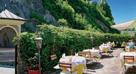 Der geheimste Gastgarten des Landes
