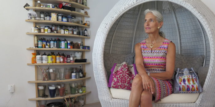 Eine Jungunternehmerin mit 57 Jahren