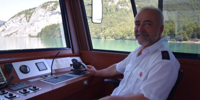 Schiff ahoi! Ein Tag als Kapitän am Wolfgangsee