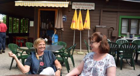 Ein Grillhendl-Paradies am Campingplatz