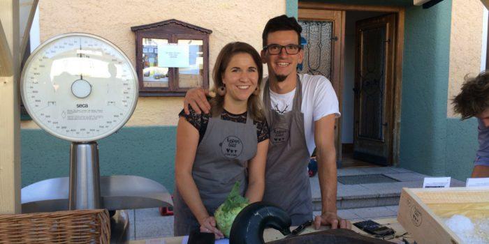 Vom Büro auf den Acker: Nußdorferin initiiert Jungbauernmarkt