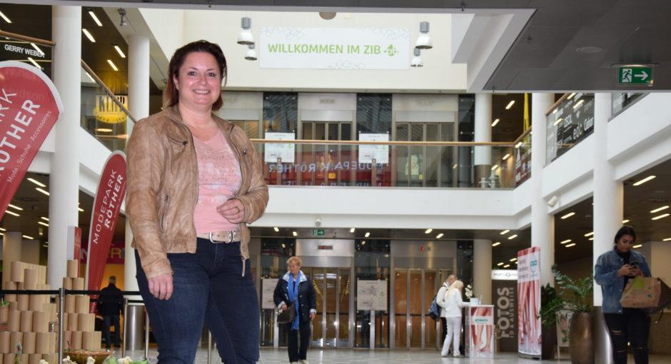 Shoppingcenter ZiB auf grüner Welle