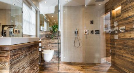 Die Trends im Badezimmer: Hingucker Holz