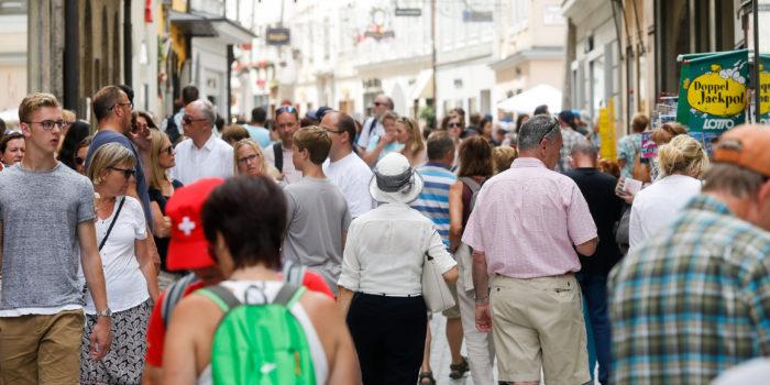 Touristenmassen: Salzburg schon unter Top 5 in Europa