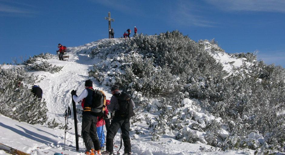 Sonne tanken im Skigebiet Gaissau-Hintersee