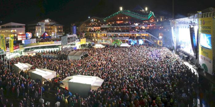 Die im Schnee einheizen: Skiopenings mit Wanda & Co.