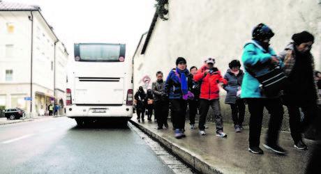 Von Moskau per Bus zum Christkindlmarkt