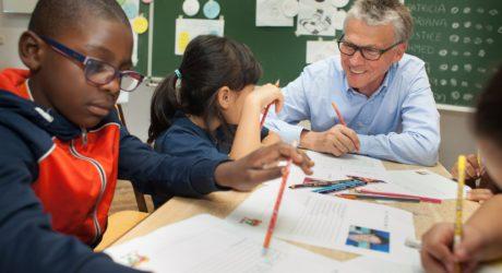 Lehrer aus Überzeugung. Und mit Außenperspektive
