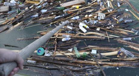 Plastik verdreckt unsere Flüsse