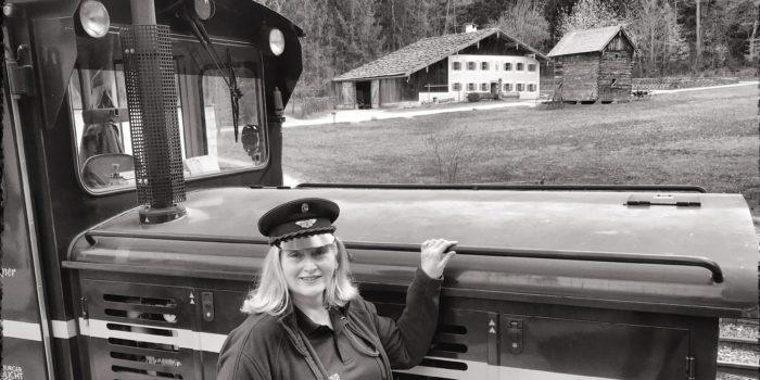 Freilichtmuseum: Selbst einen Zug fahren