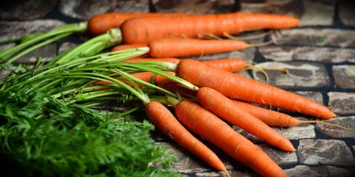 Karottensuppe, süß und samtig