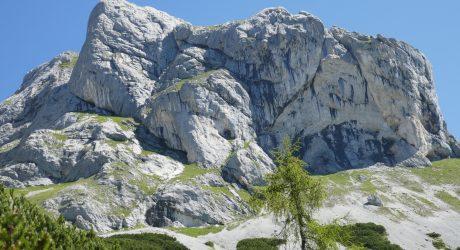 Tennengebirge klassisch: Tauernscharte und -kogel