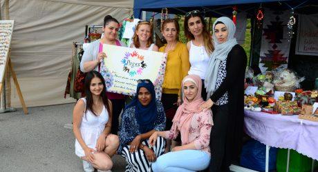 Asylwerberinnen knüpfen Bande zur neuen Heimat