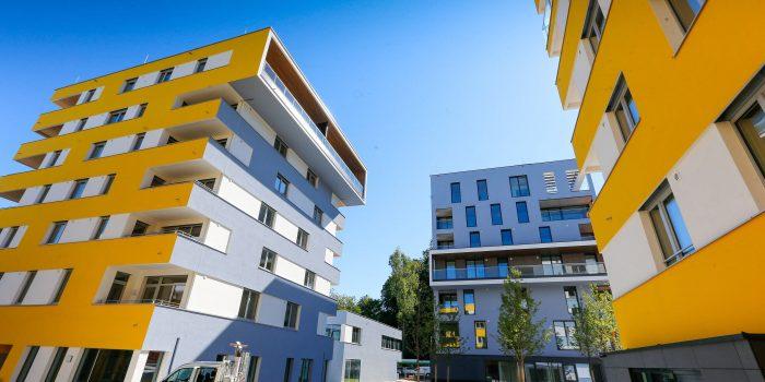 1360 Euro für zwei Zimmer im Wohnblock
