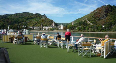 Flusskreuzfahrten: Erste Reihe fußfrei