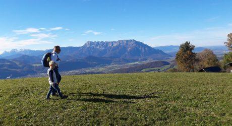 Schöne Halbtagestour: Krispler Höhenweg