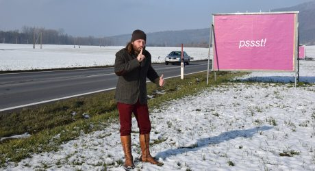 Pendler sehen pink