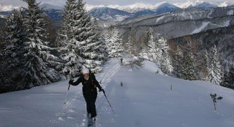 Skiwanderung durch die Nockberge