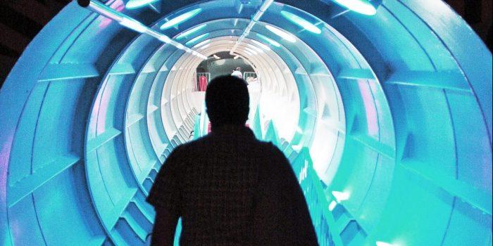 Licht am Ende des Tunnels: Telefonseelsorge hilft