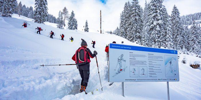 Auf Skiern unterwegs zu sich selbst