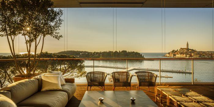 Schmausen im Urlaub: Neuer Luxus in Istrien