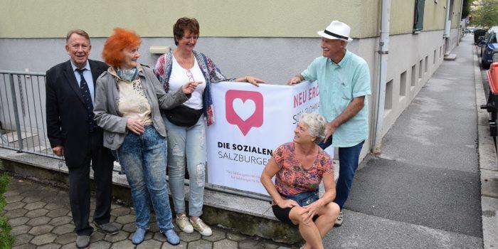 Neuer Verein hilft Salzburgern in Not