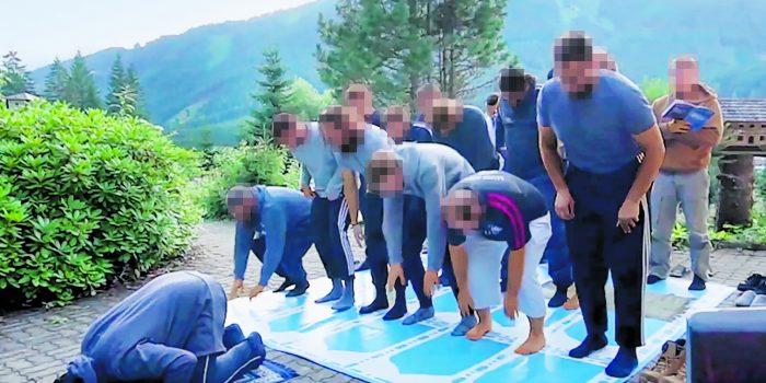 Salafisten trainieren in Salzburgs Bergen