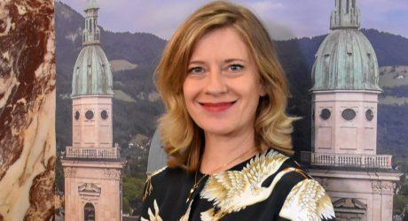 Ganz Salzburg wird  zur Tischgesellschaft